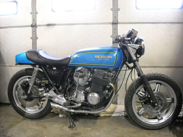 78 CB750 Cafe Racer. 1978 CB750F2 Cafe Racer